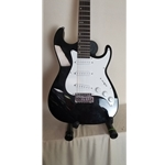 MB1-BK Samick Bennett Malibu Electric Guitar Black