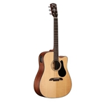 AD30CE  Alvarez Acou/Elect Solid Top Guitar-Natural