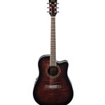 PF28ECEDVS  Ibanez Acoustic/Electric Guitar-Dark Violin Sunburst