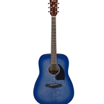 PF18WDB Ibanez Dreadnought Acoustic Guitar - Weathered Denim