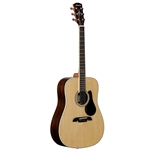 AD70W  Alvarez Solid Spruce top / Dark Walnut Acoustic Guitar