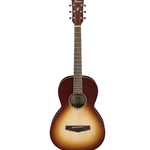 PN19ONB  Ibanez Parlor Guitar - Open Pore Natural Brown Burst