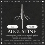 S.P.  Augustine Classic Black Guitar Strings -- Medium Tension