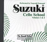 0940  Suzuki Cello School CD Vol 1 & 2