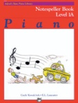Alfred Basic Piano Notespeller Level 1A 6186