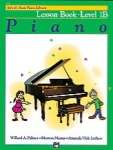 Alfred Basic Piano Lesson Level 1B 2106