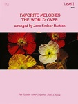 Favorite Melodies The World Over - Level 1 WP37