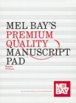 12 staves Manuscript Pad (GLUED 96 PGS) MB93900