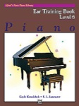 Alfred Basic Piano Ear Training Level 6 14538