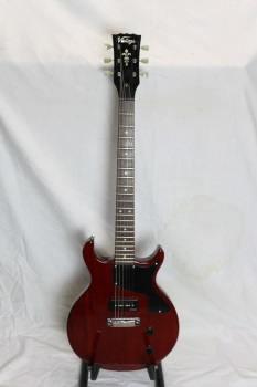 V100JWR  Used Vintage Electric - Junior Wine Red