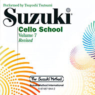 0944  Suzuki Cello School CD Vol 7